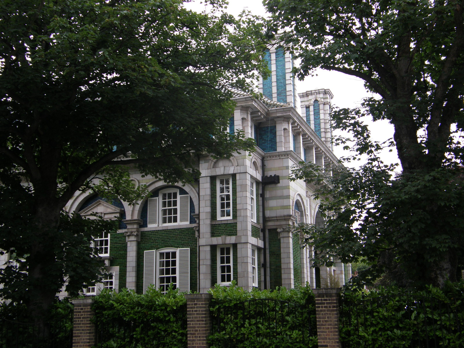 The Peacock House