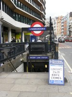 Chancery Lane station