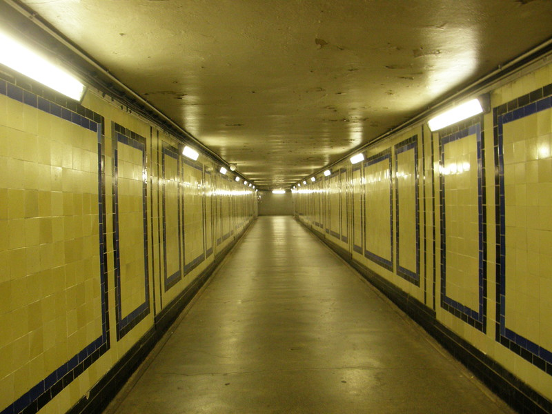 A tunnel under Marble Arch