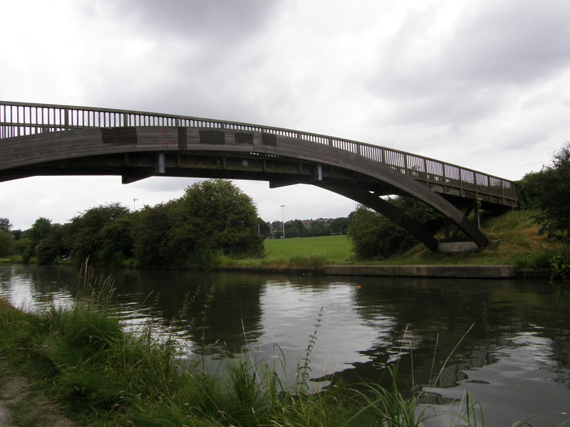 A bridge over the Grand Union Canal