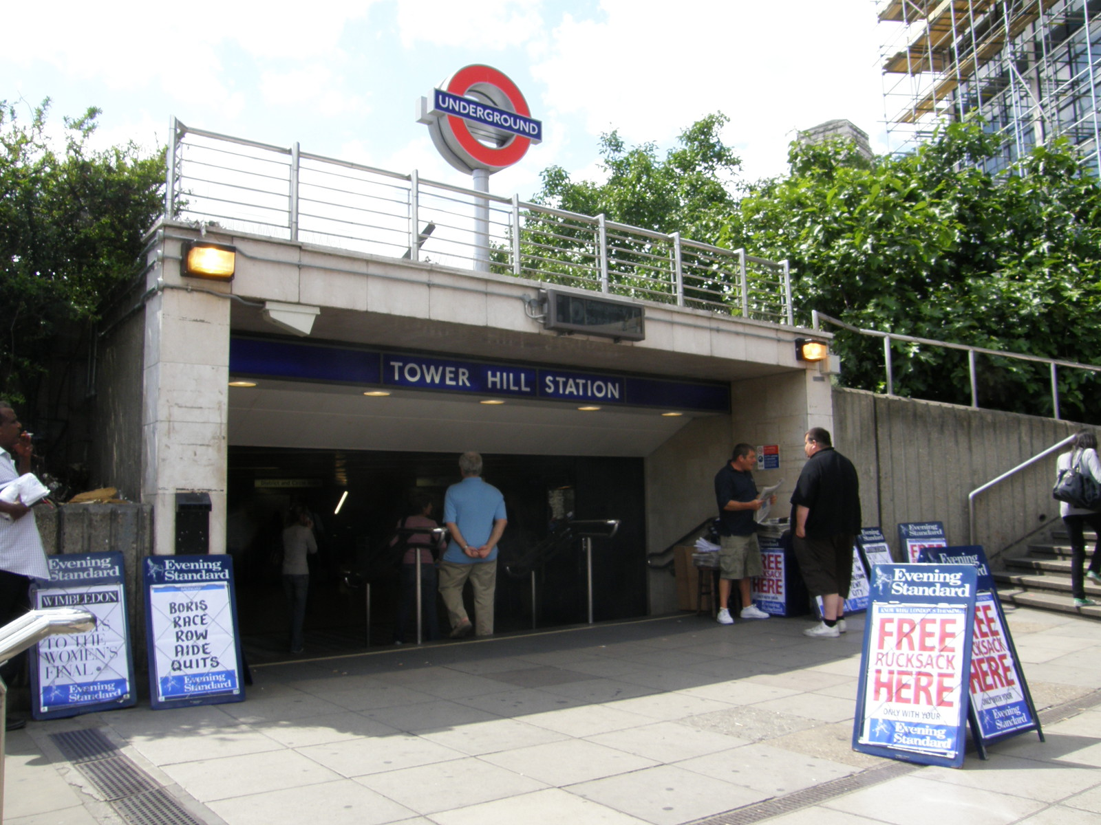 Tower Hill station