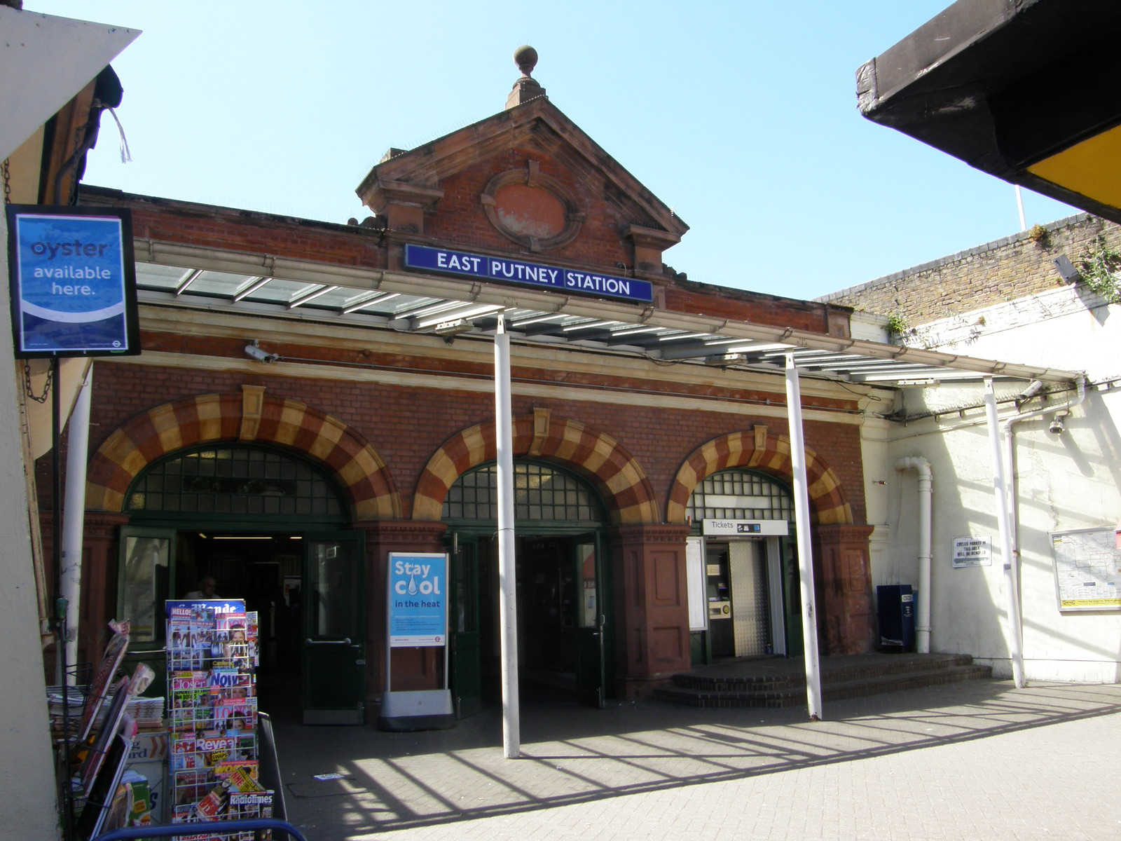 East Putney station