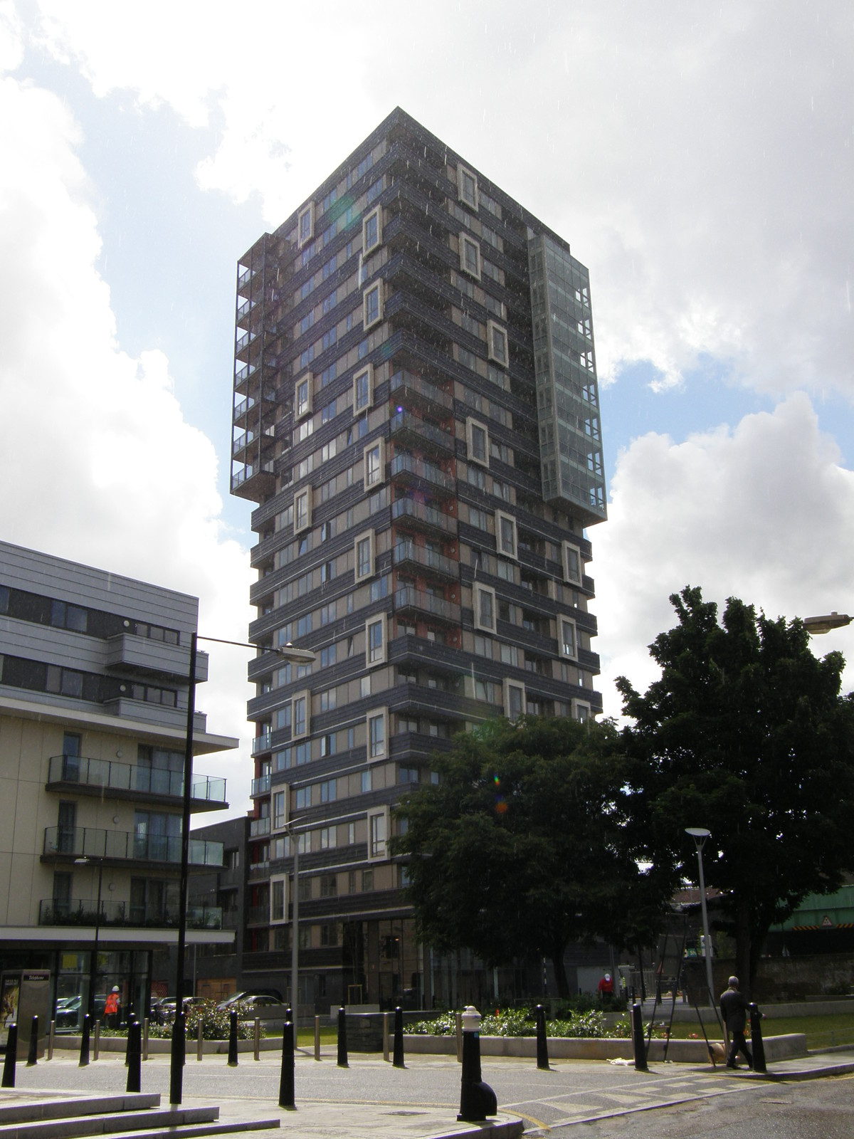 A tower block near Shadwell