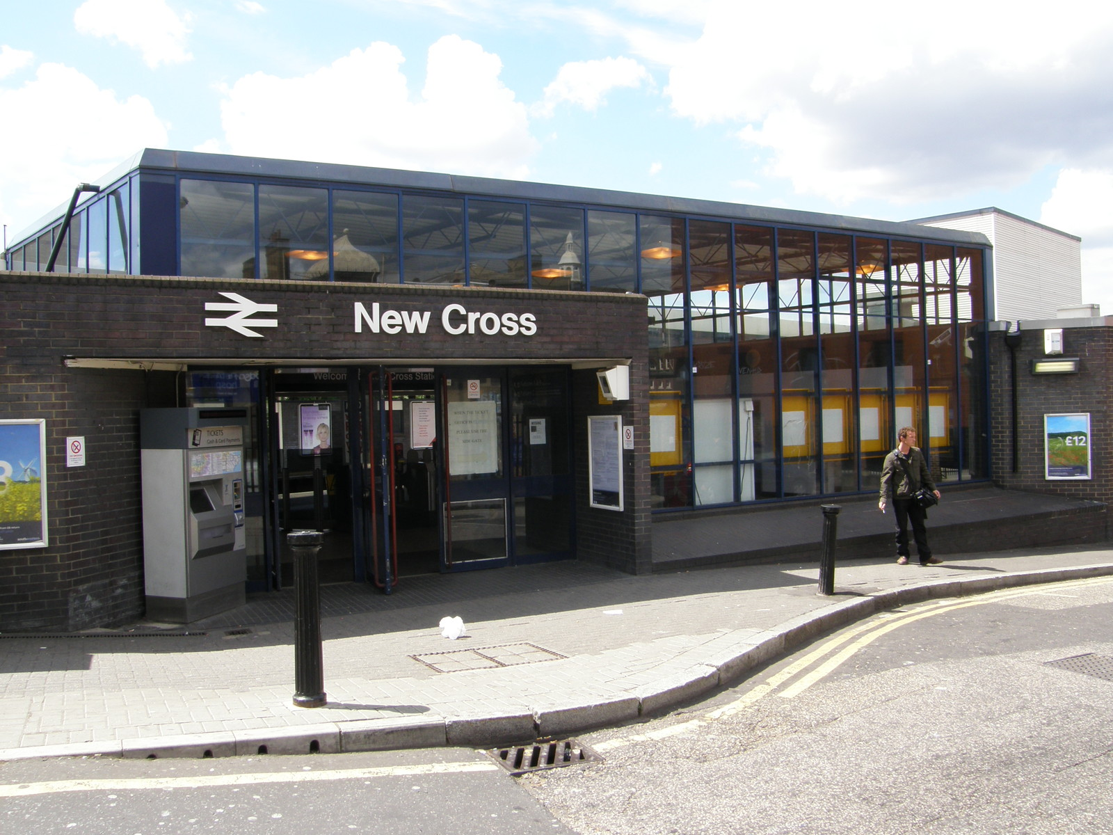 New Cross station