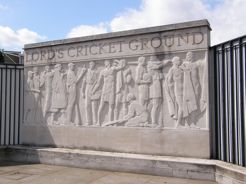 The fresco outside Lord's
