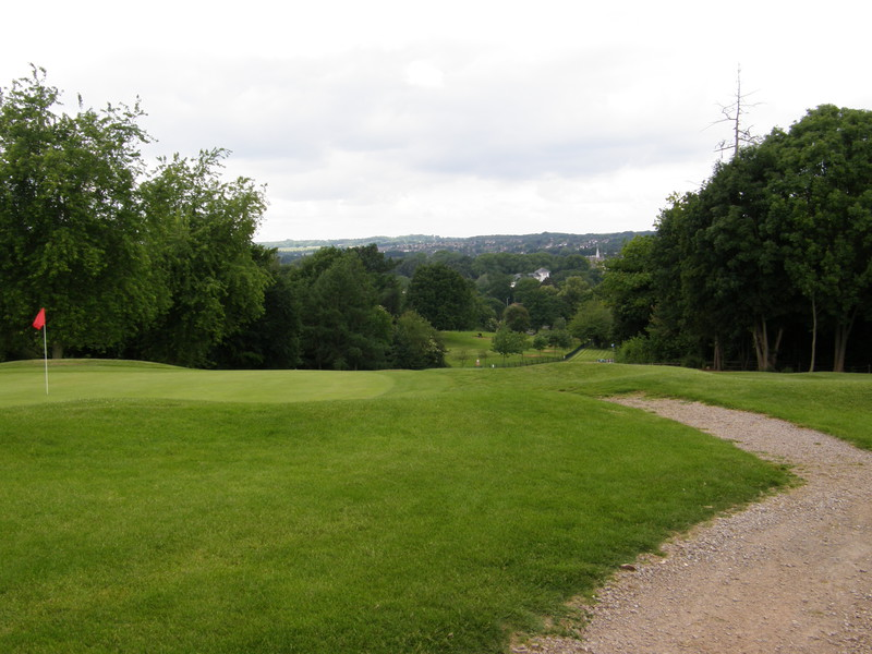 A path in Moor Park Golf Course
