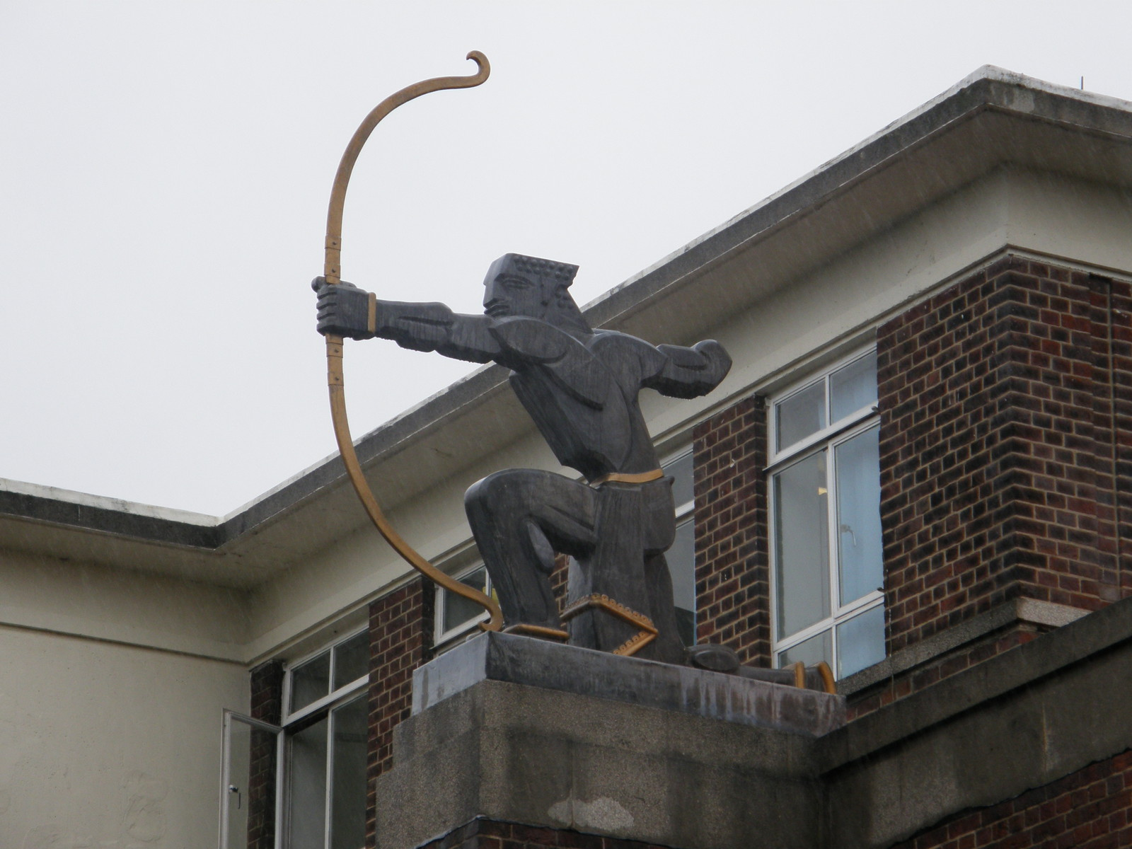 The archer on East Finchley station