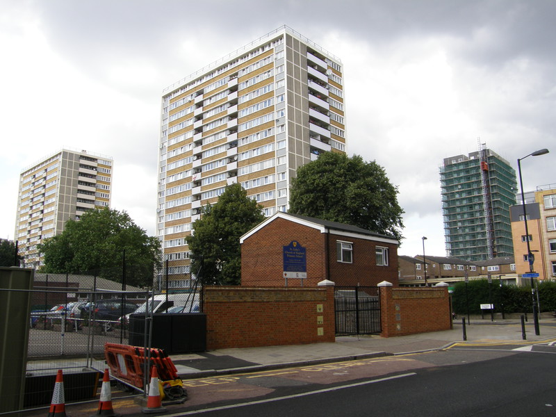 Estates north of Old Street