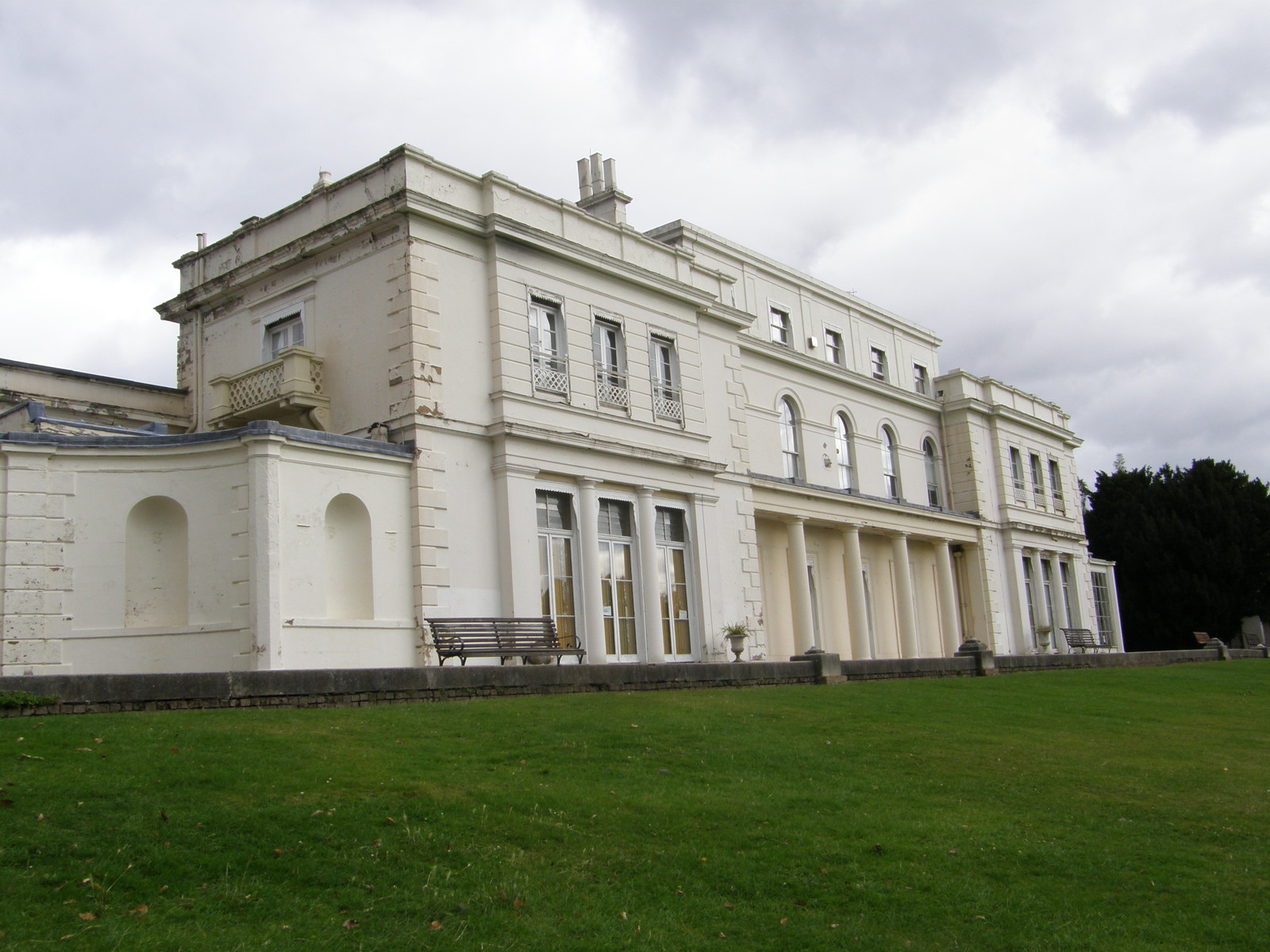 The Large Mansion in Gunnersbury Park