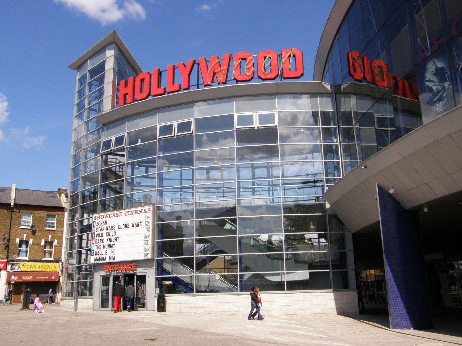 The Hollywood Cinema