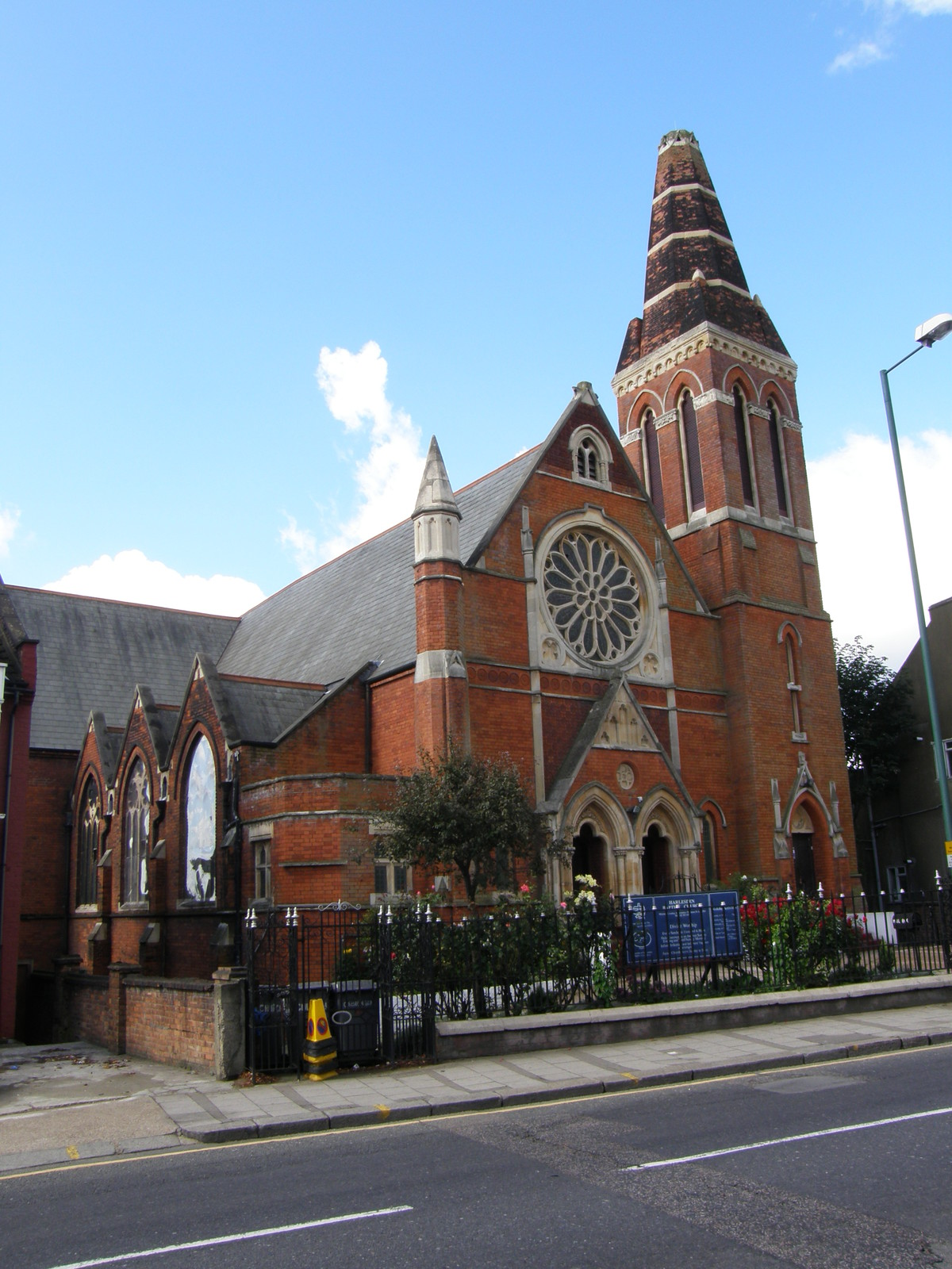 Harlesden Baptist Church on Acton Lane