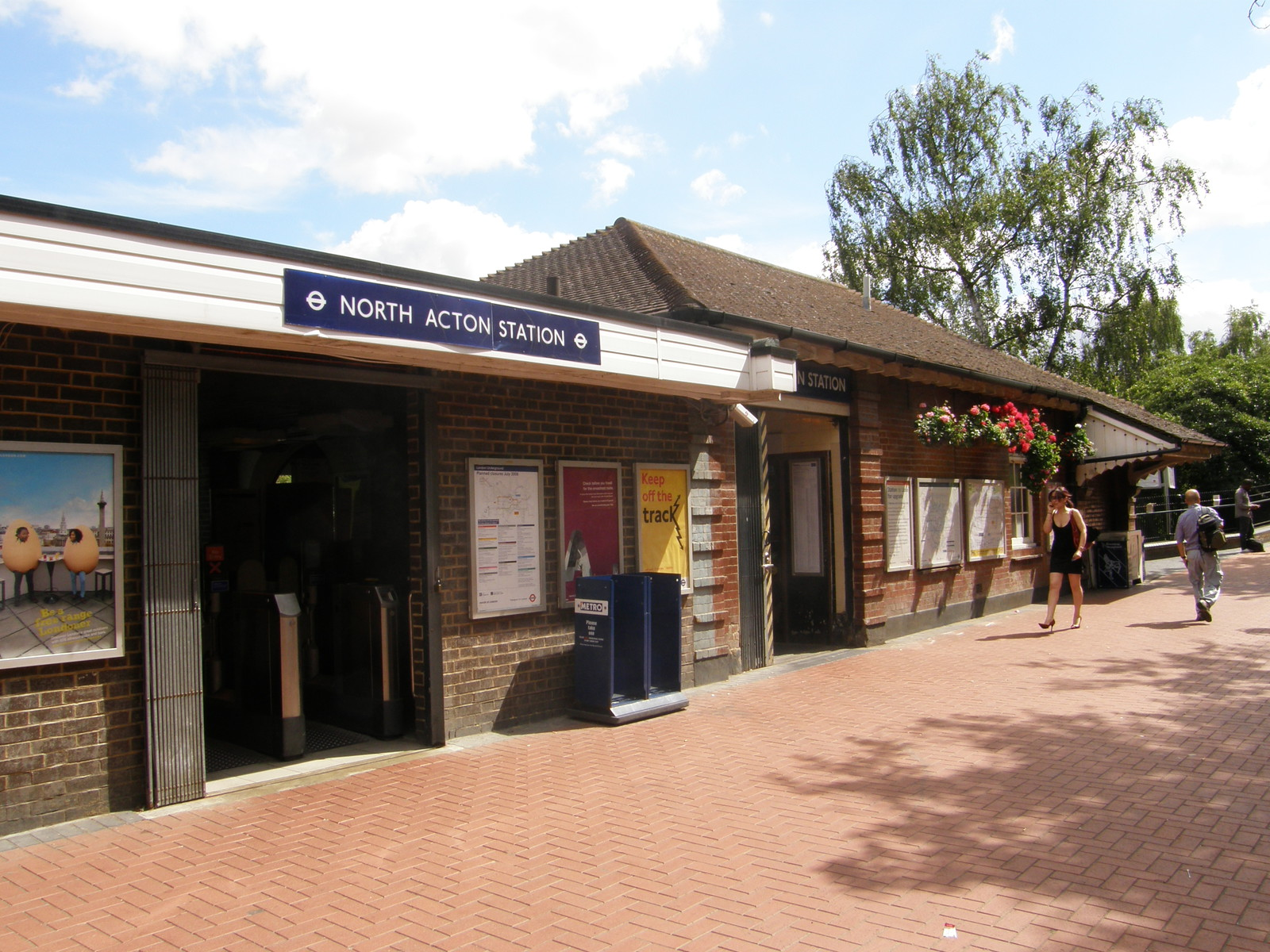 North Acton station
