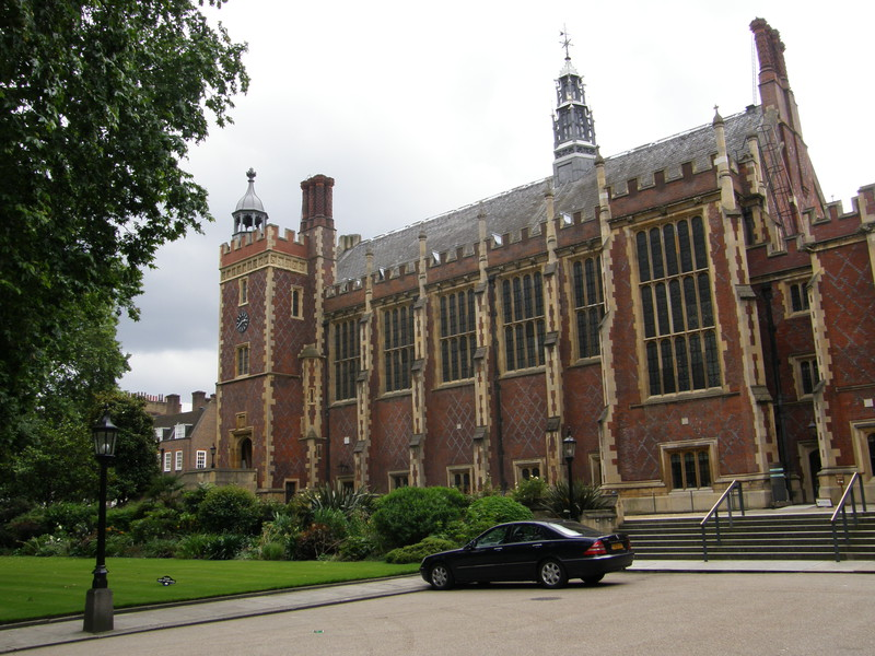 The Great Hall and library at Lincoln's Inn