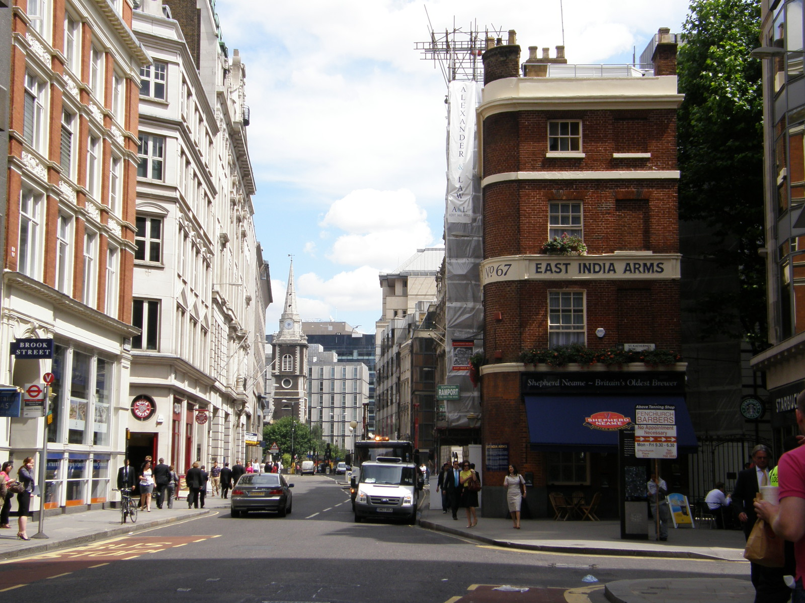 Image from Aldgate to Tower Hill and Gloucester Road to High Street Kensington