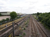 Image from Becontree to Upminster