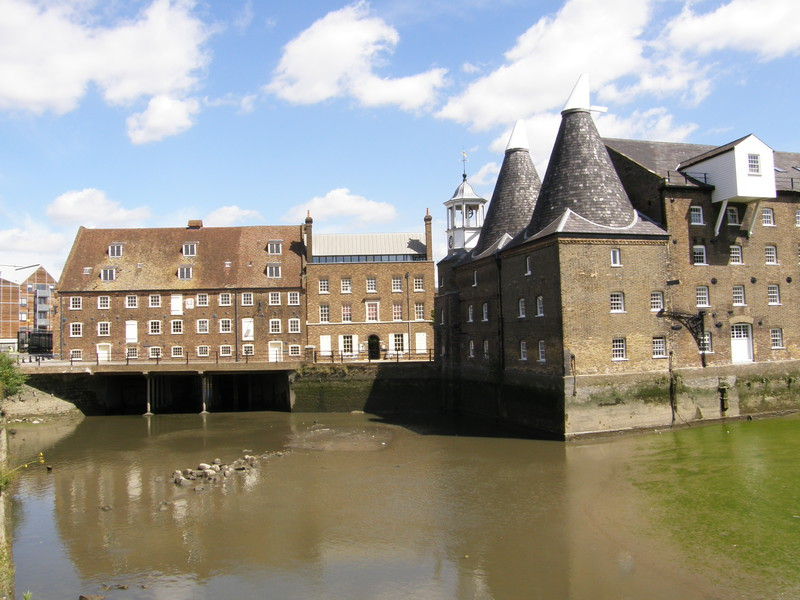 House Mill and Clock Mill