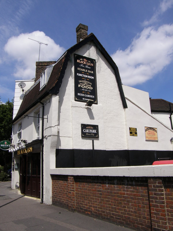 The Black Lion, Plaistow