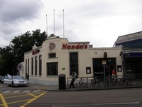 The UK's first Nando's Restaurant