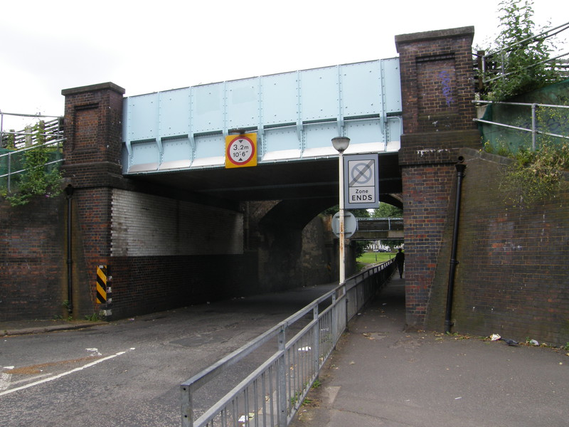 The three bridges over Fisher's Lane