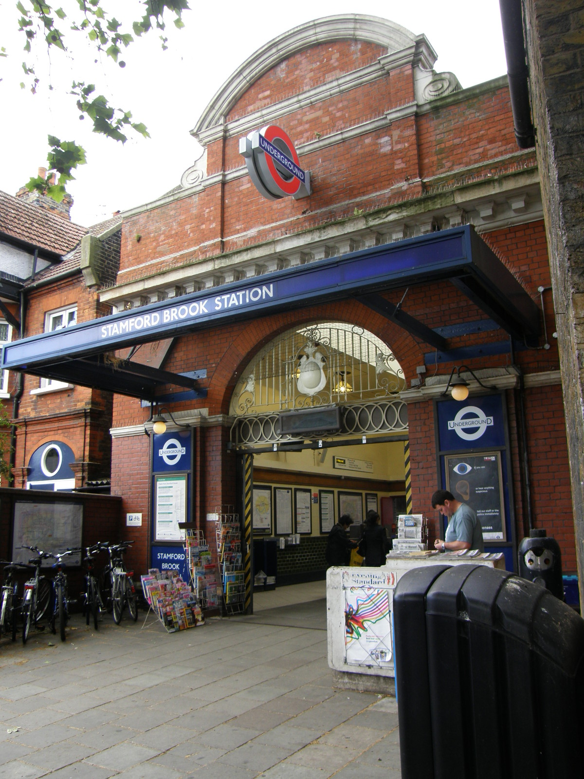 Stamford Brook station