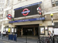 St James's Park station