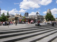 The plaza by the Tower of London