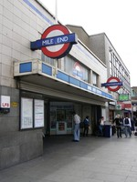 Mile End station