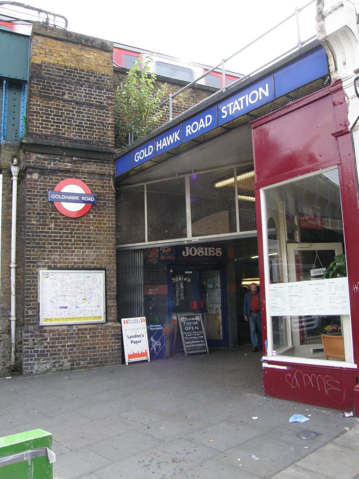 Goldhawk Road station