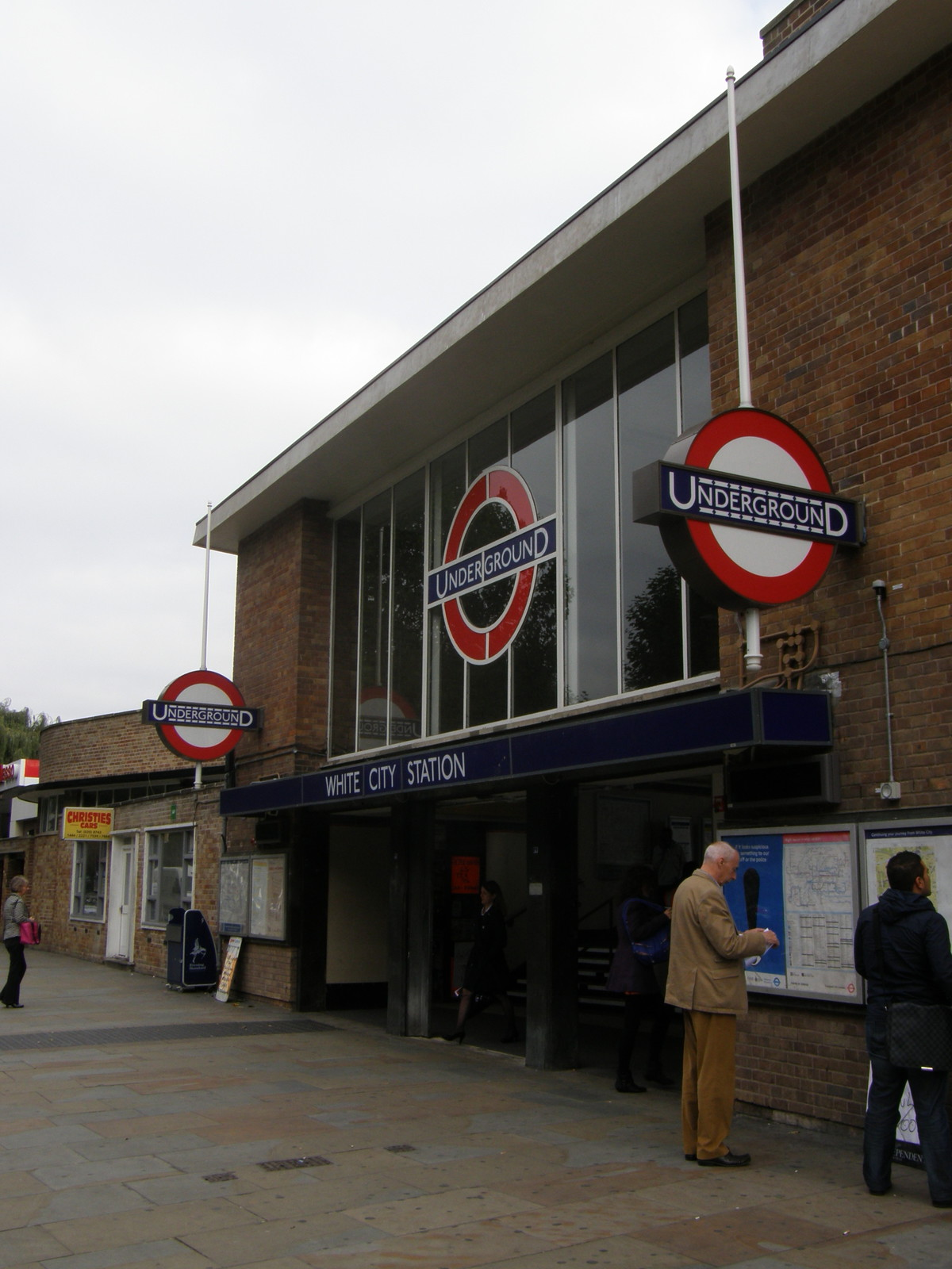White City station