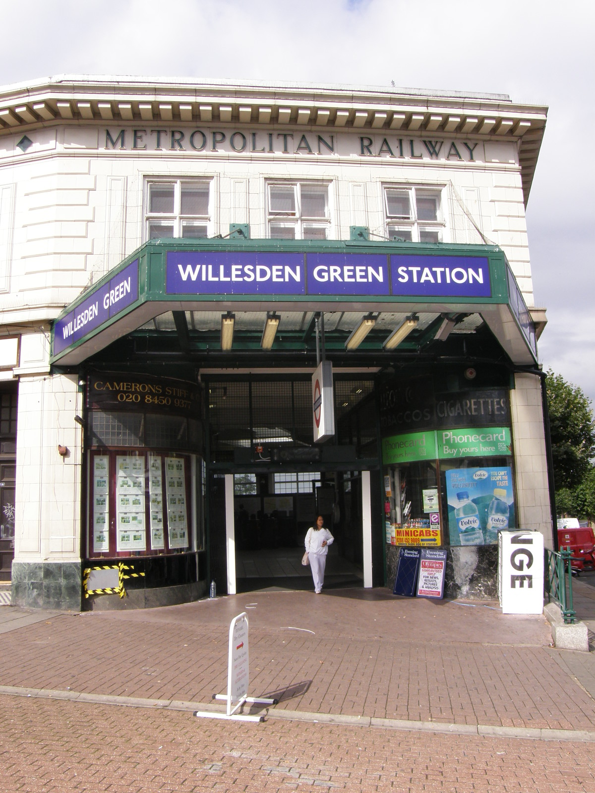 Image from Dollis Hill to Green Park