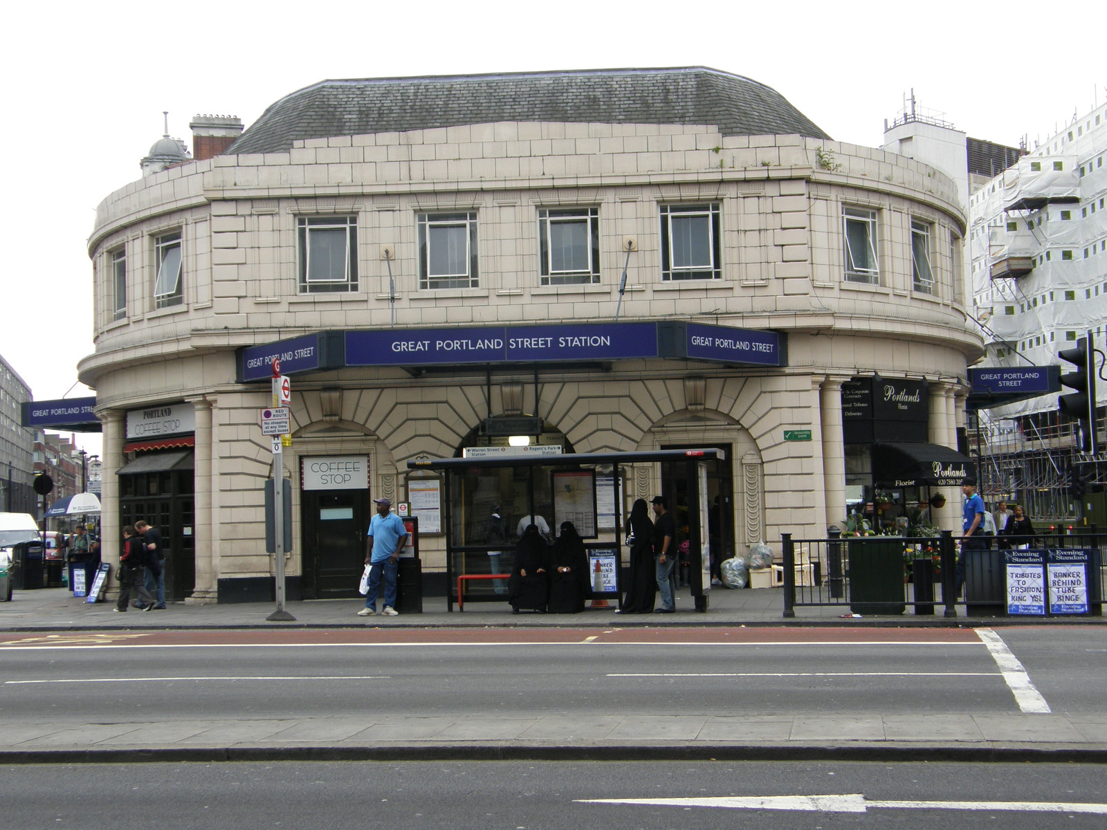 Great Portland Street station
