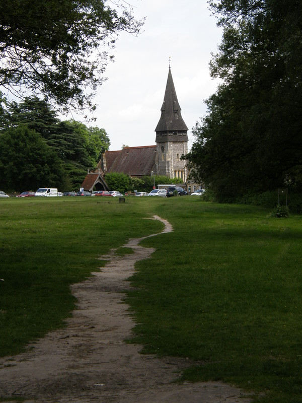 Christ Church from Chorleywood Common