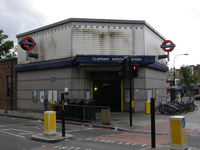 Clapham North station