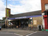 South Ealing station