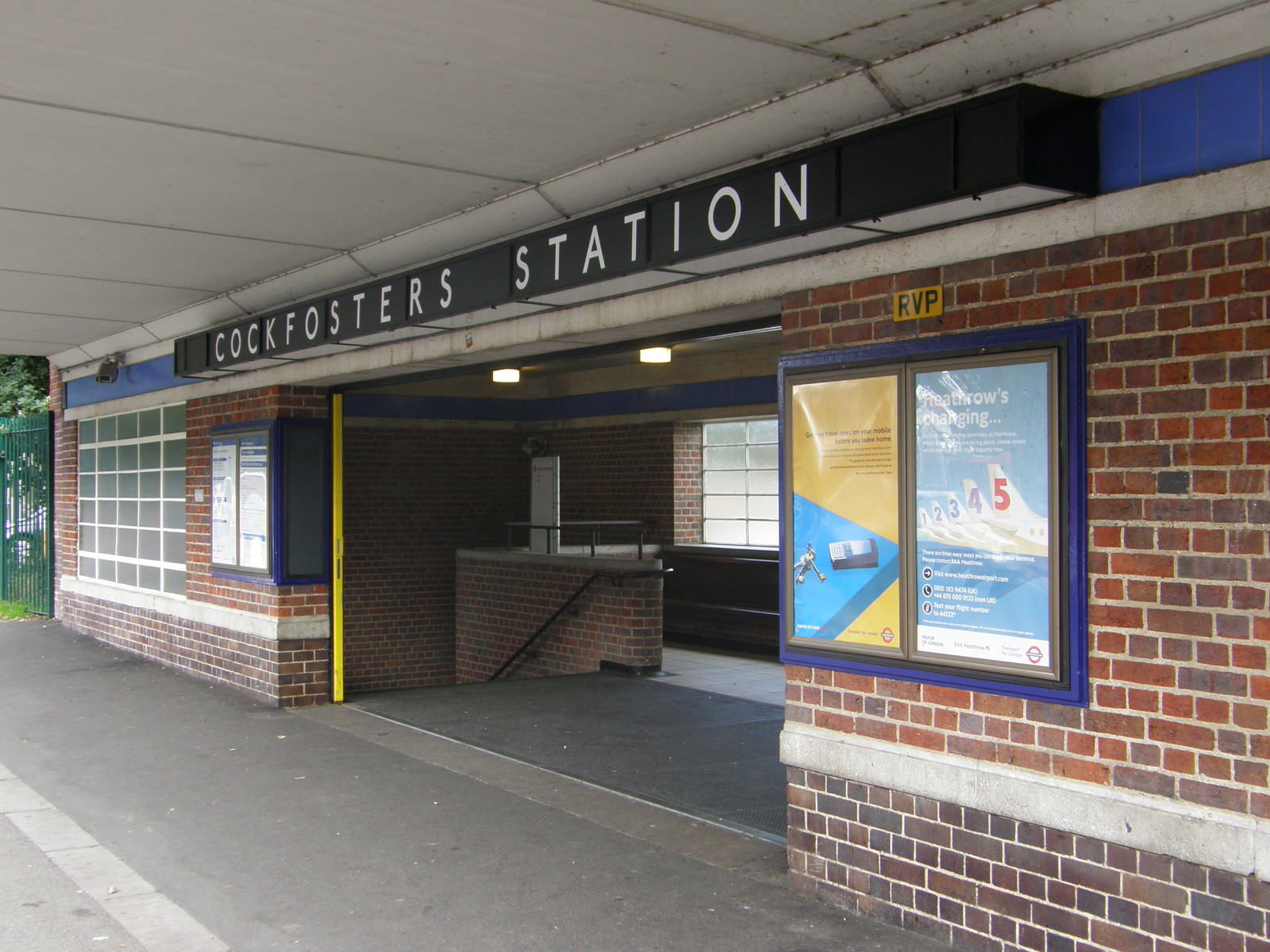 Cockfosters station