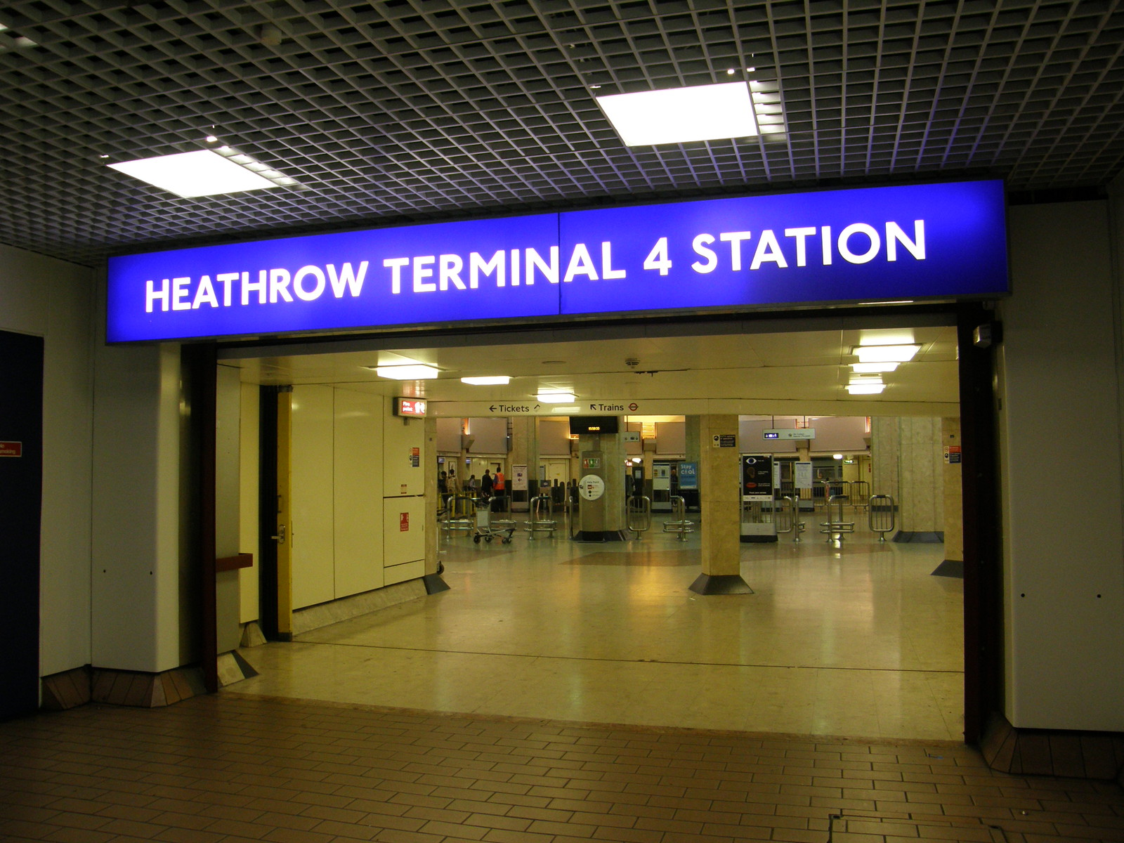 Heathrow Terminal 4 station