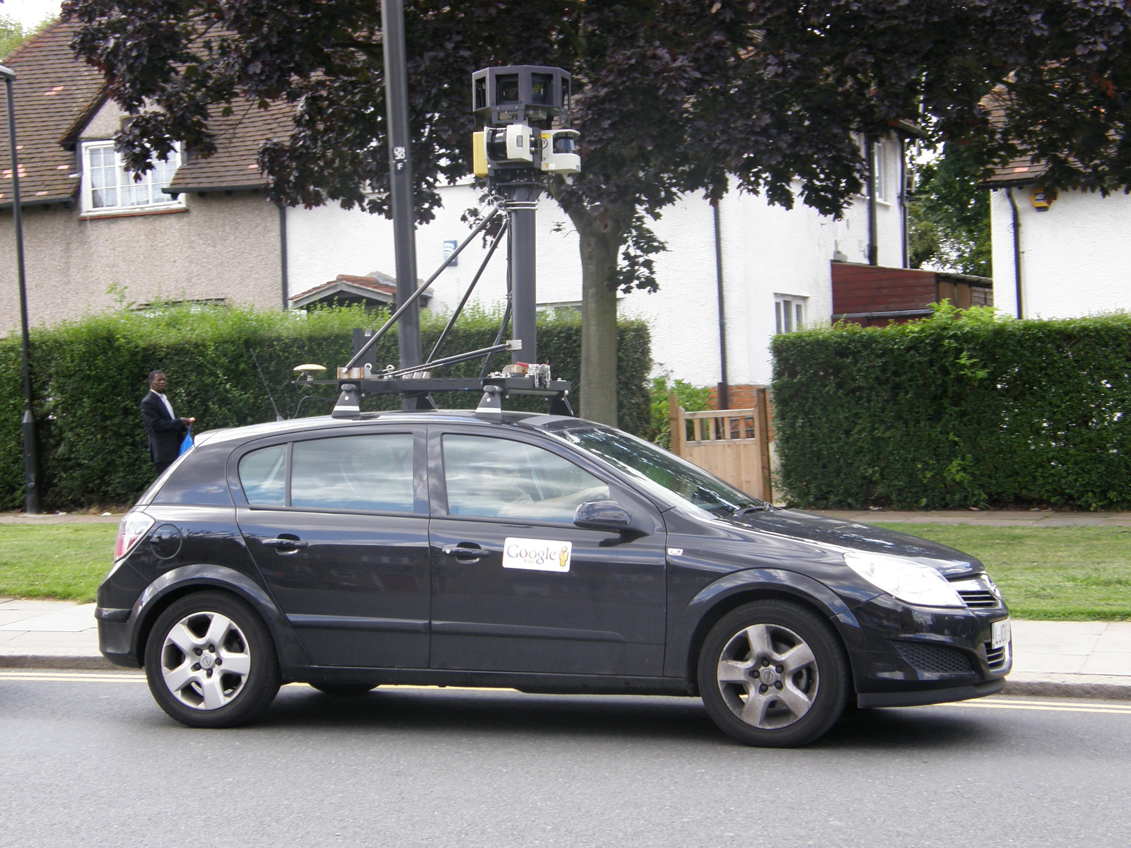 Google's Street View car