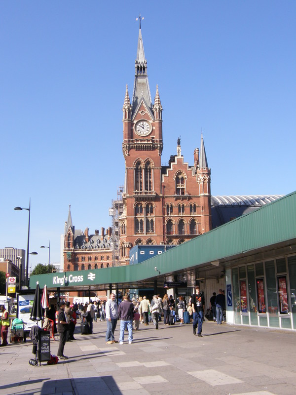 King's Cross St Pancras station