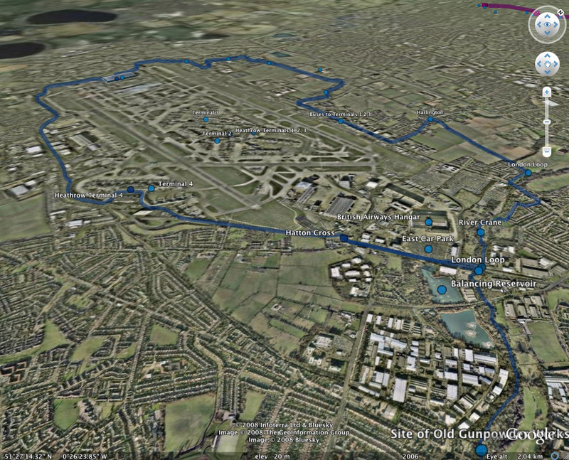 3D Tube Map in Google Earth - The Route - Tubewalker: The