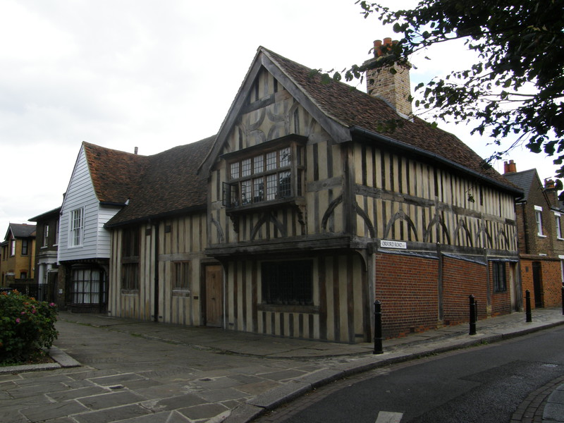 The 15th-century Ancient House in Walthamstow Village